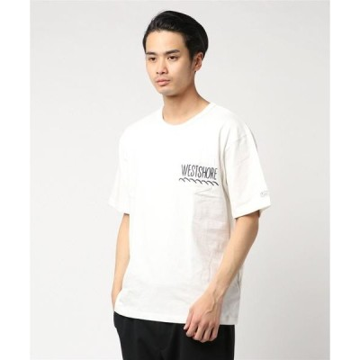 tシャツ Tシャツ WS-201 WEST SHORE new logo pocket Tee/ロゴTシャツ