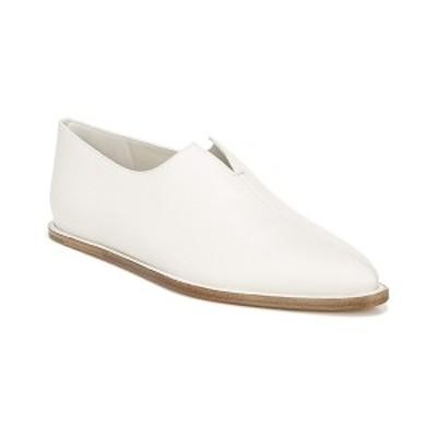 ヴィンス レディース サンダル シューズ Vince Porto Leather Flat off white Napoli calfskin leather