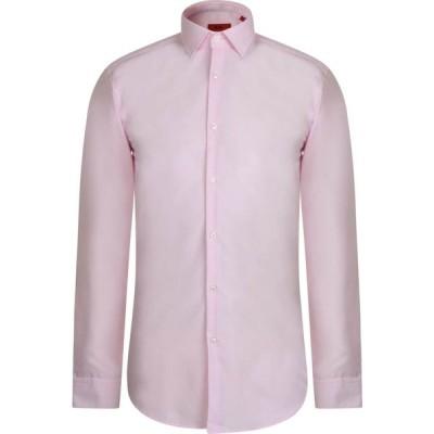 ヒューゴ ボス Hugo メンズ シャツ トップス Long Sleeve Shirt Pink