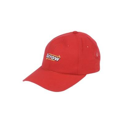 ADER ERROR 帽子 レッド one size ナイロン 100% 帽子