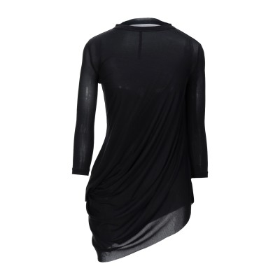RICK OWENS LILIES T シャツ ブラック 40 キュプラ 83% / ポリウレタン 17% T シャツ