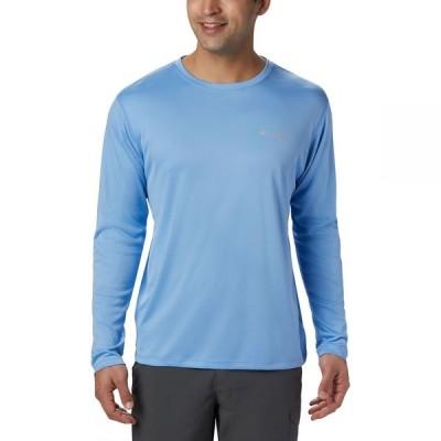 コロンビア Columbia メンズ シャツ トップス pfg zero rules long-sleeve shirt White Cap