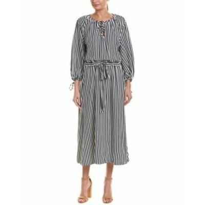 mds エムディーエス ファッション ドレス Mds Stripes Garden Maxi Dress