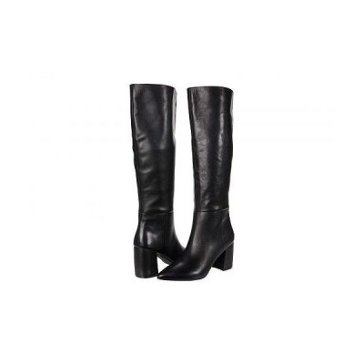 Steve Madden スティーブマデン レディース 女性用 シューズ 靴 ブーツ ロングブーツ Nilly Boot - Black Leather
