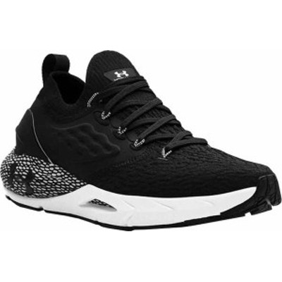 アンダーアーマー メンズ スニーカー シューズ Men's Under Armour Hovr Phantom 2 Running Sneaker Black/White/Black
