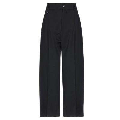 HIGH パンツ ブラック 40 バージンウール 96% / ポリウレタン 4% パンツ