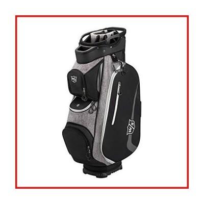 Wilson Xtra Cart Golf Bag, Black/Grey/White, OSFA