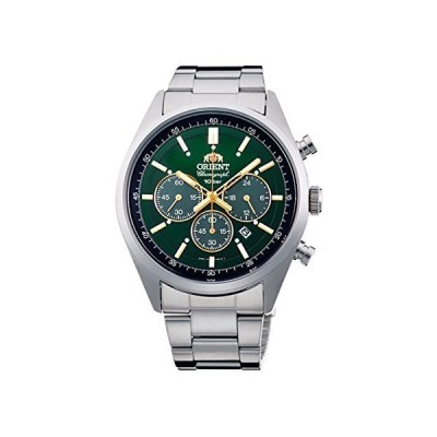 オリエントORIENT 腕時計 スポーティー NEO 70's ネオセブンティーズ SOLAR PANDA ブリリアントグリーン WV003