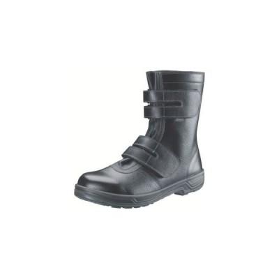 シモン SS38 安全靴 長編上靴マジック式 黒 25.5cm SS38-25.5