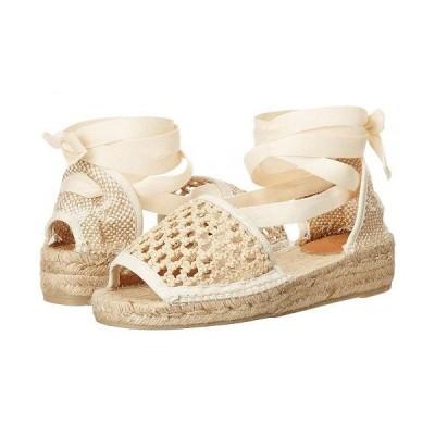 CASTANER レディース 女性用 シューズ 靴 ヒール Sonia 20 Wedge Espadrille - Natural