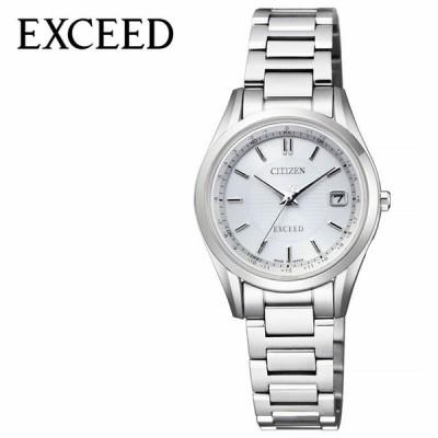 CITIZEN 腕時計 シチズン 時計 エクシード EXCEED レディース シルバー ES9370-54A 人気 正規品 ブランド おすすめ 防水 パーフェックス 電波