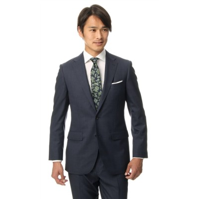 プレミアムスタイリッシュスーツ【MAF Super130's】