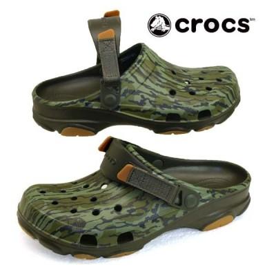クロックス crocs classicc all terrain mossyoak bottomland clog 206464 260 クラシック オール テレイン モッシ—オーク ボトムランド クロッグ メンズ