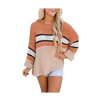 HVEPUO Loose Drop Shoulder Sweater Lightweight Winter Work Cute Jumpers Ora