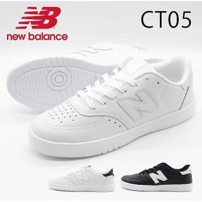 ニューバランス スニーカー メンズ レディース 靴 白 黒 ホワイト ブラック 軽量 軽い シンプル 通気性 new balance CT05
