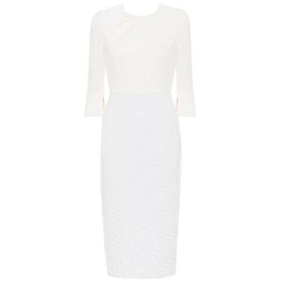 ローラン ムレ Roland Mouret レディース ワンピース ミドル丈 ワンピース・ドレス Palatine midi dress White