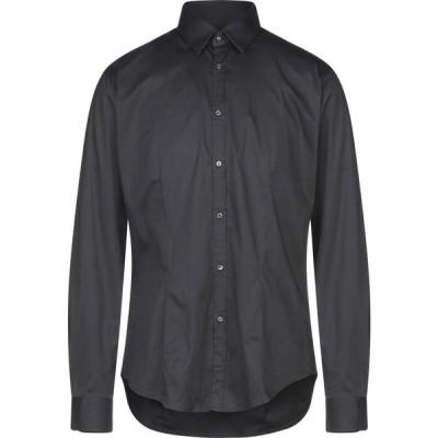 ブライアン デールズ BRIAN DALES メンズ シャツ トップス solid color shirt Black