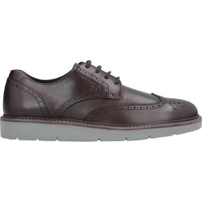 ホーガン HOGAN メンズ シューズ・靴 laced shoes Dark brown
