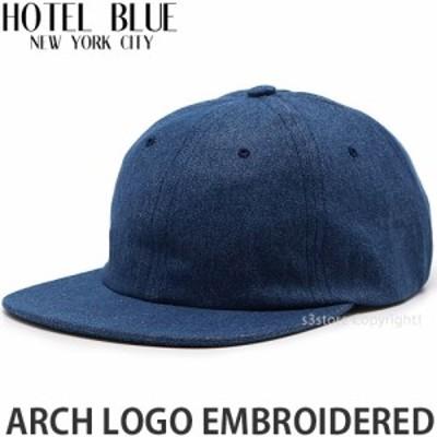 ホテル ブルー ARCH LOGO EMBROIDERED カラー:BLUE DENIM サイズ:OS