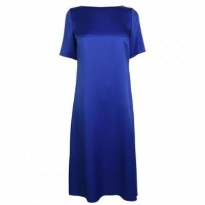 ヒューゴ ボス Boss レディース ワンピース ワンピース・ドレス Dibeca Dress Blue