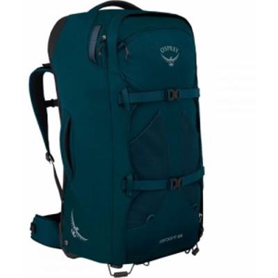 オスプレー Osprey Packs レディース スーツケース・キャリーバッグ バッグ Farpoint Wheeled 65L Travel Pack Petrol Blue