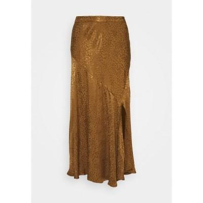 ビーヤング スカート レディース ボトムス FINULA SKIRT - A-line skirt - golden olive
