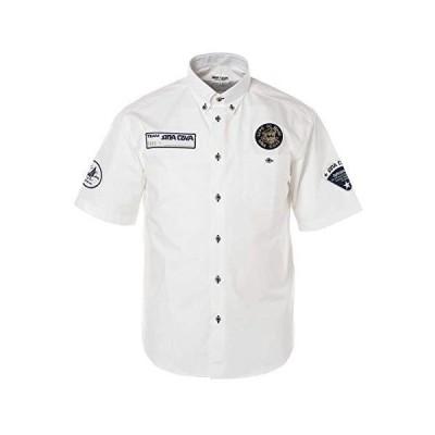 (シナコバ) SINA COVA 半袖ボタンダウンシャツ シャツ メンズ カジュアル マリン (オフ) M 20124520
