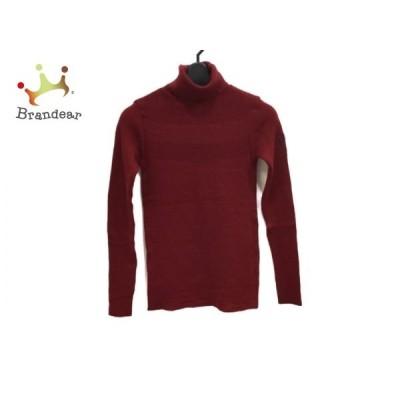 カステルバジャックスポーツ 長袖セーター サイズ1 S レディース 美品 - ボルドー 新着 20200521