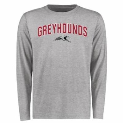 Fanatics Branded ファナティクス ブランド スポーツ用品  Indianapolis Greyhounds Ash Proud Mascot Long Sleeve T-Shirt