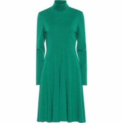 カルバンクライン Calvin Klein 205W39NYC レディース ワンピース ワンピース・ドレス Wool jersey turtleneck dress Dark Malachite