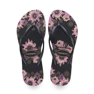 ハワイアナス レディース サンダル シューズ Havaianas Women's Slim Organic Sandal