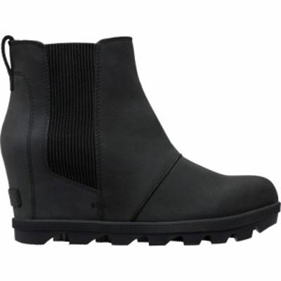 ソレル Sorel レディース ブーツ チェルシーブーツ ウェッジソール シューズ・靴 Joan Of Arctic II Wedge Chelsea Boots Black