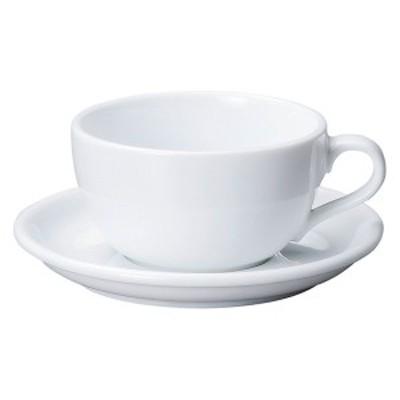 【取り寄せ商品】 CAFE カフェ イラーレ 14オンスラテボウル ホワイト【日本製】 19700454 【日本製  カップ&ソーサー コーヒーカッ