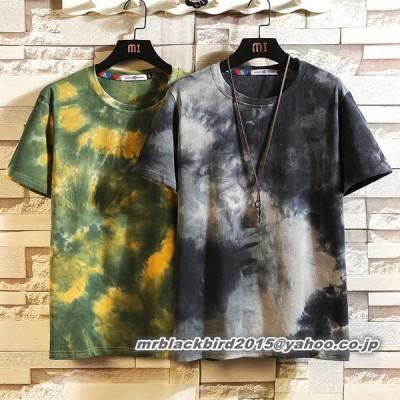 Tシャツ メンズ クールネック 半袖 カットソー トップス 大きいサイズ カジュアル おしゃれ 夏