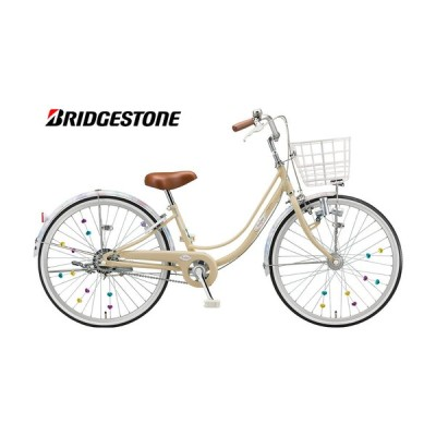 """(店舗受取送料割引)ブリヂストン(BRIDGESTONE) リコリーナ 24"""" ダイナモ シングル ジュニアサイクル RC401"""