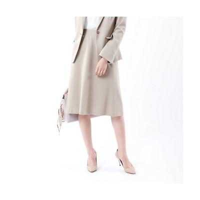 <TRANSWORK(Women)/トランスワーク>【XSサイズ~】【セットアップ対応】【美Skirt】ストレッチポンチスカート(U1S06220__) 40Lベージュ【三越伊勢丹/公式】