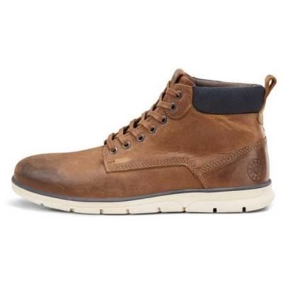 ジャック & ジョーンズ メンズ メンズ用シューズ ブーツとブーティ jack-&-jones fwtubar-leather-sts