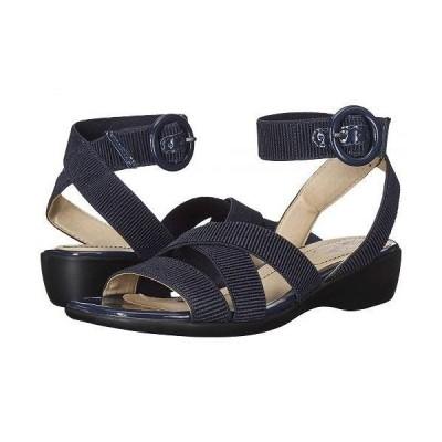 LifeStride ライフストライド レディース 女性用 シューズ 靴 ヒール Temple - Lux Navy Gore/Patent