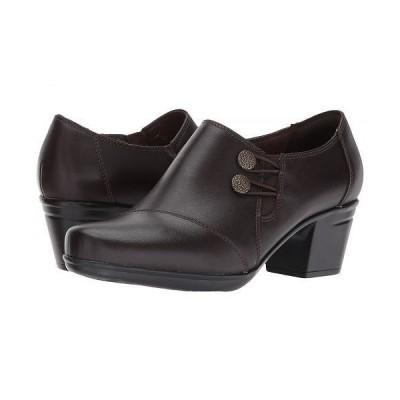 Clarks クラークス レディース 女性用 シューズ 靴 ヒール Emslie Warren - Dark Brown