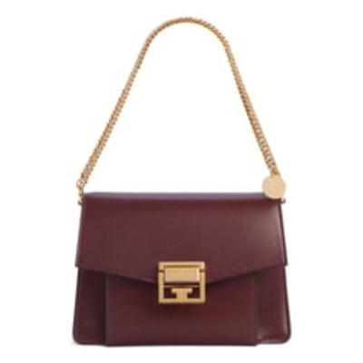 ジバンシー ショルダーバッグ バッグ レディース Small GV3 Leather Crossbody Bag Aubergine