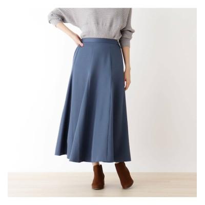 【ピンクアドベ/pink adobe】 切り替えデザイン フレアスカート