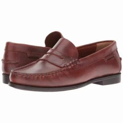 セバゴ ローファー・オックスフォード Plaza II Brown Oiled Waxy Leather