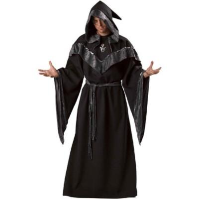 Dark Sorcerer 魔法使い 衣装、コスチューム コスプレ 大人男性用 HQ