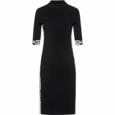 ヒューゴ ボス Hugo レディース ワンピース Tシャツワンピース シャツワンピース ワンピース・ドレス Sushanti T-shirt Dress Black