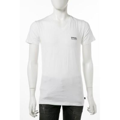 ディーゼル DIESEL Tシャツアンダーウェア ホワイト メンズ (00CG26 0CAJL)