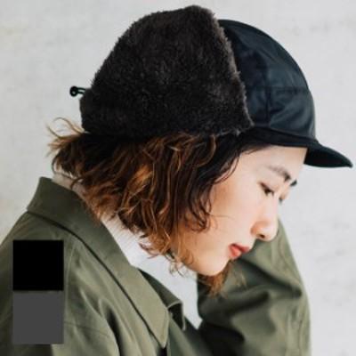 nakota ナコタ 撥水ナイロンフライトキャップ アビエイターキャップ パイロットキャップ 帽子 ボア フリース 大きいサイズ 無地 シンプル