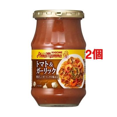 カゴメ アンナマンマ トマト&ガーリック ( 330g*2個セット )/ アンナマンマ