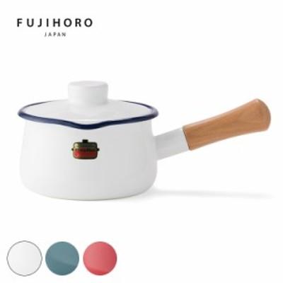 【正規販売店】 富士ホーロー Solid 15cmミルクパン SD-15M 琺瑯 片手鍋 IH対応 鍋【送料無料】