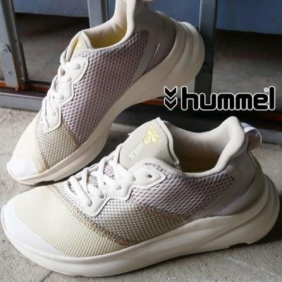ヒュンメル hummel レディース スニーカー ローカット ウォーキング フィットネス 紐靴 REACH LX 600 211811 ホワイト 白