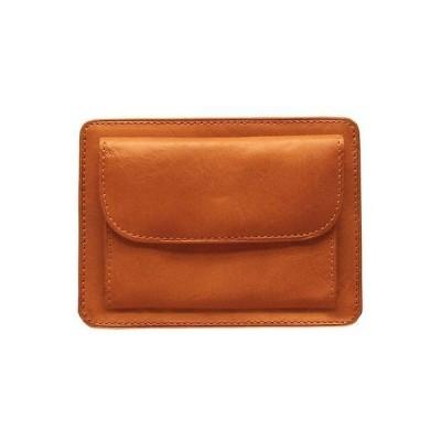 トニーペロッティ 財布 コインケース 小銭入れ マネークリップ Tony Perotti イタリア製 レザー Prima Weekend Wallet w/ コイン Pocket in Honey